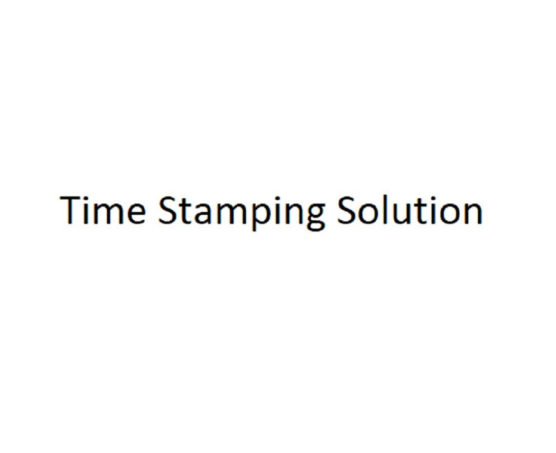 Time Stamping Solution